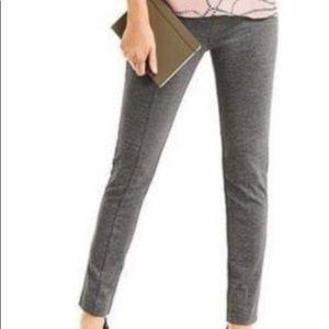 Grey Skinny Dress Pants (Stretch)